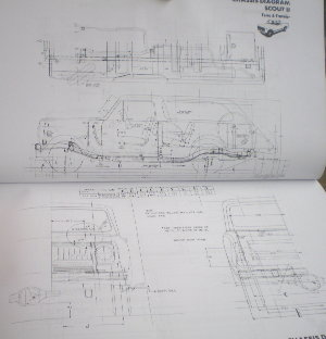 1882 ih service 1977 body builder book, scout ii, medium & heavy duty scout 800 wiring diagram at aneh.co