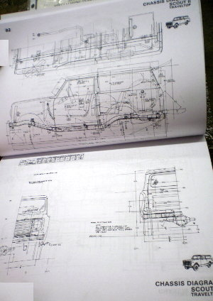 1883 ih service 1980 body builder book, scout ii, medium & heavy duty scout 800 wiring diagram at aneh.co
